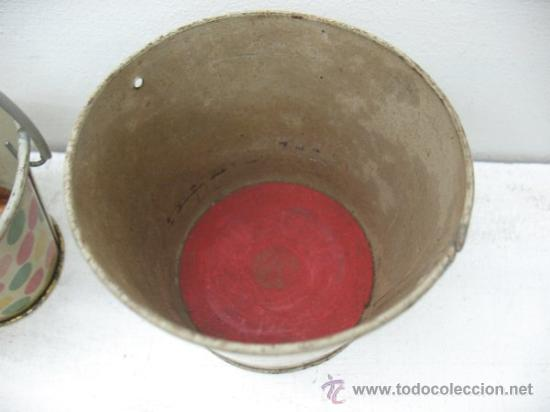 Juguetes antiguos de hojalata: JUEGO DE CUBOS ANTIGUOS - Foto 4 - 28884139