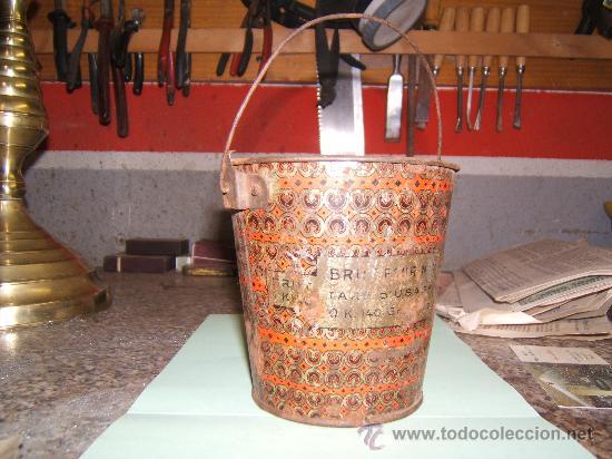 Juguetes antiguos de hojalata: CUBO LITOGRAFIADO DE HOJALATA - Foto 2 - 29789750