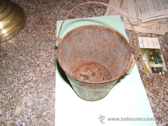 Juguetes antiguos de hojalata: CUBO LITOGRAFIADO DE HOJALATA - Foto 3 - 29789750