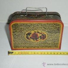 Juguetes antiguos de hojalata: MALETA DE HOJALATA DE (RICO) LITOGRAFIADA. Lote 30037240