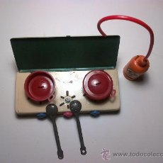 Juguetes antiguos de hojalata: COCINA DE HOJALATA. Lote 30044552