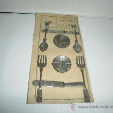 Juguetes antiguos de hojalata: BLISTER DE BATERIA DE COCINA. Lote 30260868