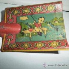 Juguetes antiguos de hojalata: PALA DE HOJALATA POSIBLEMENTE DE REY- VIGO. Lote 30261083