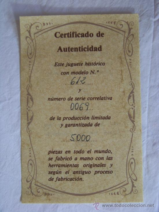 Juguetes antiguos de hojalata: BARCA CON REMERO PAYA EDICION LIMITADA 5000 UNIDADES MADE IN SPAIN - Foto 3 - 30455466