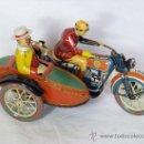 Juguetes antiguos de hojalata: MOTO SIDECAR TUF TUF PAYA EDICION LIMITADA 5000 UNIDADES MADE IN SPAIN. Lote 30455390