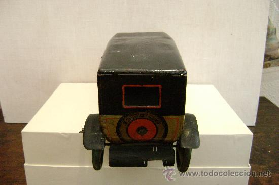 Juguetes antiguos de hojalata: COCHE ALEMAN TIPCO - Foto 3 - 23330931