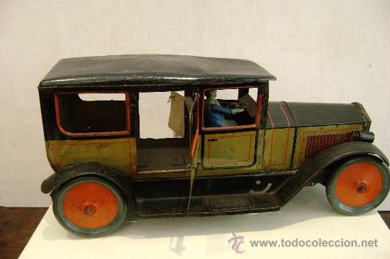 Juguetes antiguos de hojalata: COCHE ALEMAN TIPCO - Foto 7 - 23330931