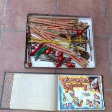 Juguetes antiguos de hojalata: ANTIQUISIMO JUGUETE ESPAÑOL PIRUETAS MODELOS AÑOS 50 BORRAS ENVIO GRATIS. Lote 31098573