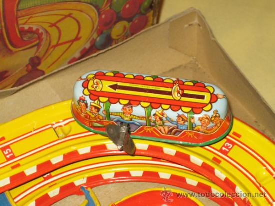Juguetes antiguos de hojalata: TECHNOFIX - TOBBOGAN - AÑOS 50-60 - - VER FOTOS - Foto 6 - 31198300