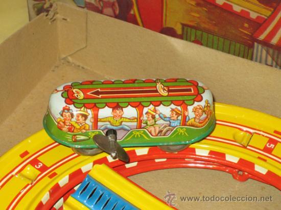 Juguetes antiguos de hojalata: TECHNOFIX - TOBBOGAN - AÑOS 50-60 - - VER FOTOS - Foto 5 - 31198300