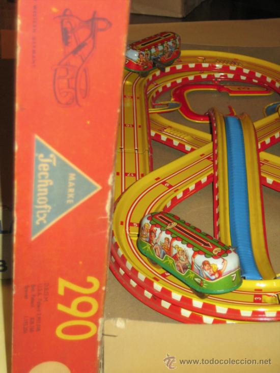 Juguetes antiguos de hojalata: TECHNOFIX - TOBBOGAN - AÑOS 50-60 - - VER FOTOS - Foto 3 - 31198300