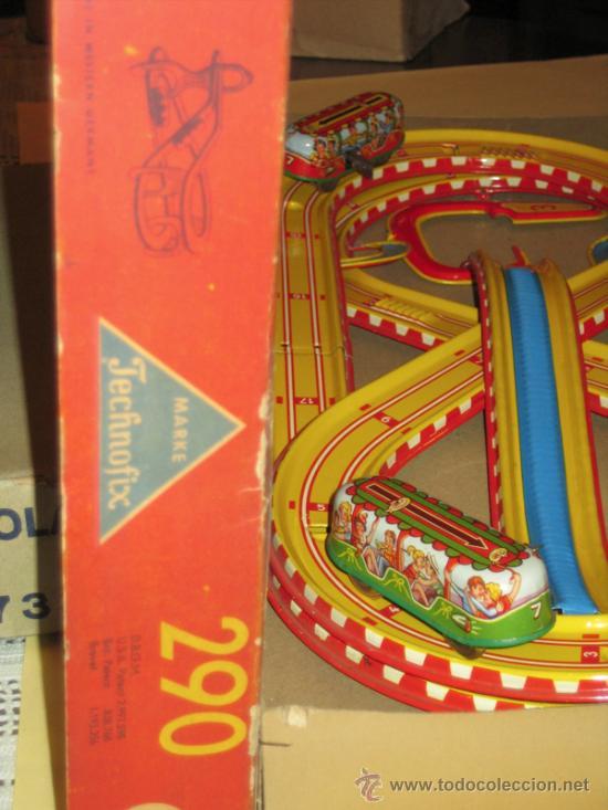 Juguetes antiguos de hojalata: TECHNOFIX - TOBBOGAN - AÑOS 50-60 - - VER FOTOS - Foto 2 - 31198300