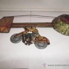 Juguetes antiguos de hojalata - MOTO DE SALTO DE RICO - 31325209