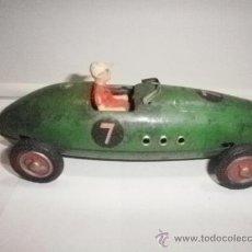 Brinquedos antigos de folha-de-Flandres: COCHE CARRERAS Nº 7 RICO (). Lote 31353373