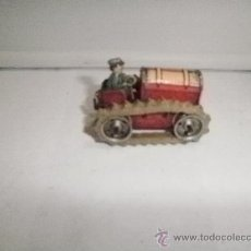 Juguetes antiguos de hojalata: TRACTOR MADE IN GERMANY ZONA USA. Lote 31527443