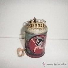 Juguetes antiguos de hojalata: BARQUILLERO DE HOJALATA DE RICO. Lote 31539533