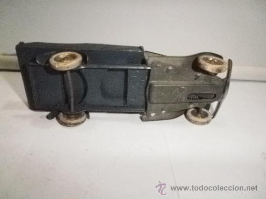Juguetes antiguos de hojalata: CAMIONETA MADE IN ENGLAND MINI TOYS - Foto 3 - 31549459