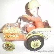 Juguetes antiguos de hojalata: JEEP LOCO INDUSTRIAS ARGENTINAS. Lote 31576804