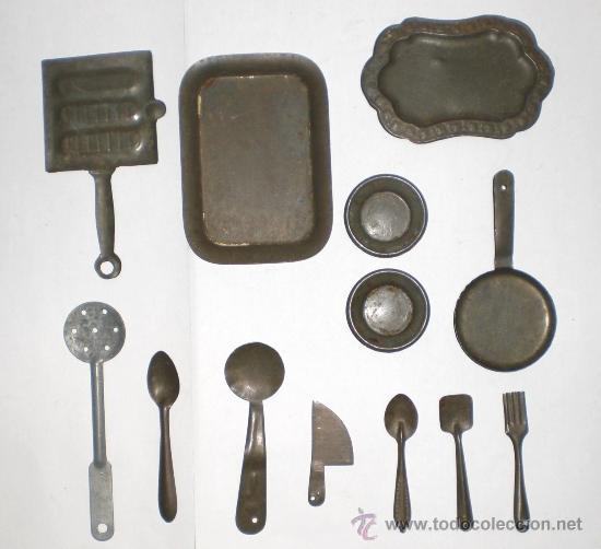 Interesante lote de utensilios de cocina antigu comprar for Utensilios antiguos de cocina