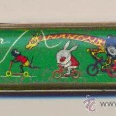 Juguetes antiguos de hojalata: ANTIGUA ARMONICA MARCA STAR MADE IN CHINA . Lote 32237851