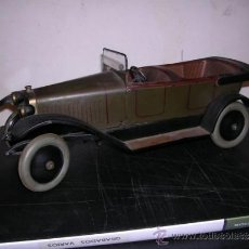 Juguetes antiguos de hojalata: COCHE DE HOJALATA ANTIGUO DELAGE AUTOMOBILLES J DE P BREVETE PARIS MADE IN FRANCE 9 . Lote 32901762