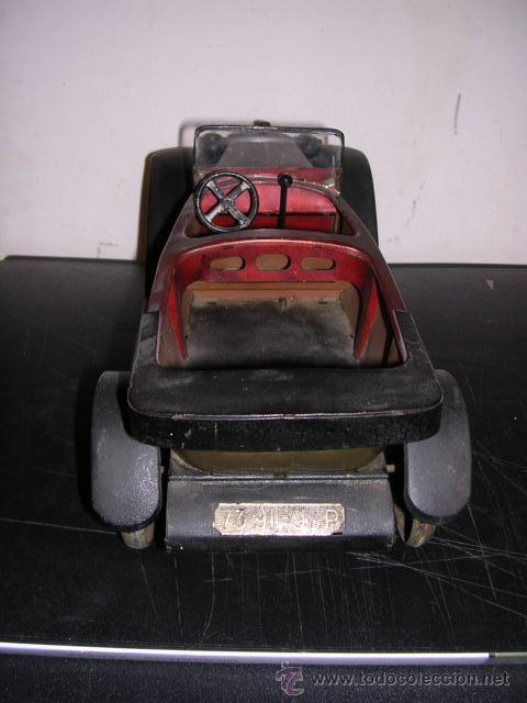 Juguetes antiguos de hojalata: COCHE DE HOJALATA ANTIGUO DELAGE AUTOMOBILLES J de P BREVETE PARIS MADE IN FRANCE 9 - Foto 7 - 32901762