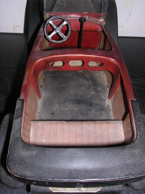 Juguetes antiguos de hojalata: COCHE DE HOJALATA ANTIGUO DELAGE AUTOMOBILLES J de P BREVETE PARIS MADE IN FRANCE 9 - Foto 11 - 32901762