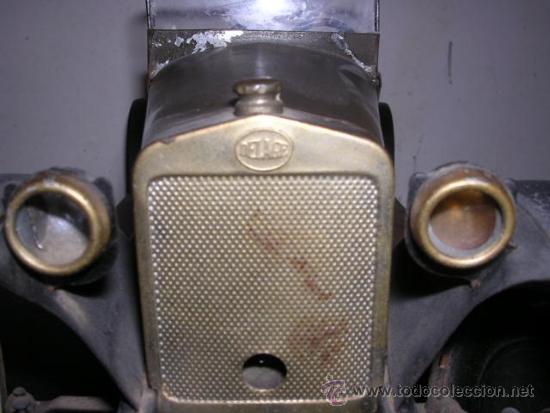 Juguetes antiguos de hojalata: COCHE DE HOJALATA ANTIGUO DELAGE AUTOMOBILLES J de P BREVETE PARIS MADE IN FRANCE 9 - Foto 12 - 32901762