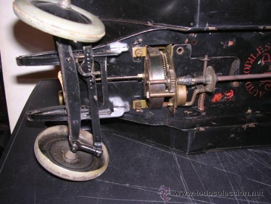 Juguetes antiguos de hojalata: COCHE DE HOJALATA ANTIGUO DELAGE AUTOMOBILLES J de P BREVETE PARIS MADE IN FRANCE 9 - Foto 15 - 32901762