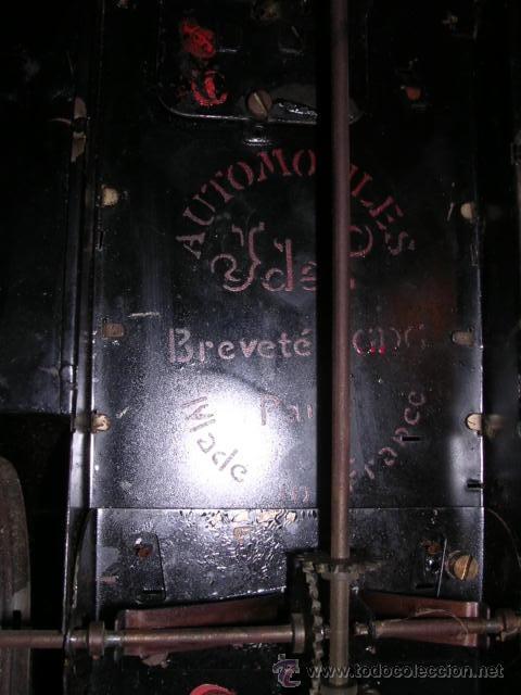 Juguetes antiguos de hojalata: COCHE DE HOJALATA ANTIGUO DELAGE AUTOMOBILLES J de P BREVETE PARIS MADE IN FRANCE 9 - Foto 23 - 32901762