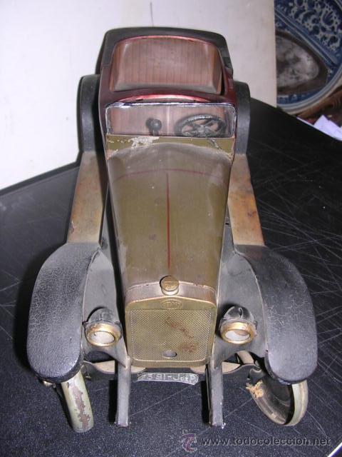 Juguetes antiguos de hojalata: COCHE DE HOJALATA ANTIGUO DELAGE AUTOMOBILLES J de P BREVETE PARIS MADE IN FRANCE 9 - Foto 24 - 32901762
