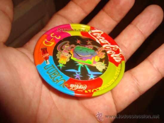 MAGIC BOX INTERNATIONAL RAPPERS 3 D ,COCA COLA- HAPPY MEAL 25 PUNTOS (Juguetes - Juguetes de Hojalata: Reproducciones y Actuales )