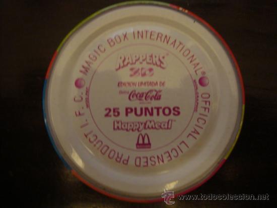 Juguetes antiguos de hojalata: MAGIC BOX INTERNATIONAL RAPPERS 3 D ,COCA COLA- HAPPY MEAL 25 PUNTOS - Foto 3 - 33278113