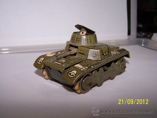 TANQUE GAMA MADE IN WESTERN GERMANY (Juguetes - Juguetes Antiguos de Hojalata Extranjeros)