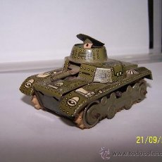 Juguetes antiguos de hojalata: TANQUE GAMA MADE IN WESTERN GERMANY. Lote 33345546