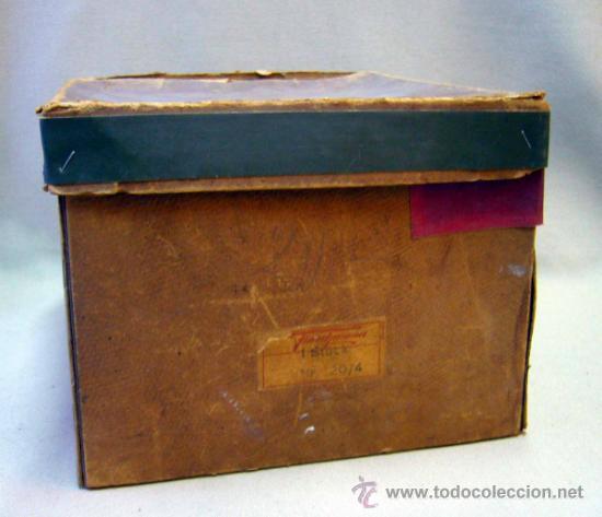 Juguetes antiguos de hojalata: ANTIGUA CALDERA A VAPOR, FABRICADA POR FLEISCHMANN, ALEMANIA, 1930s, EN SU CAJA - Foto 26 - 35488329