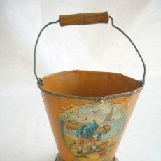 Juguetes antiguos de hojalata: CUBO DE LATA. . Lote 35584900