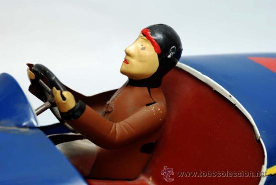 Juguetes antiguos de hojalata: Bugatti de Paya reedicion serie limitada a 100 unidades para la Expo de 1992 nº 86 - Foto 3 - 35860177