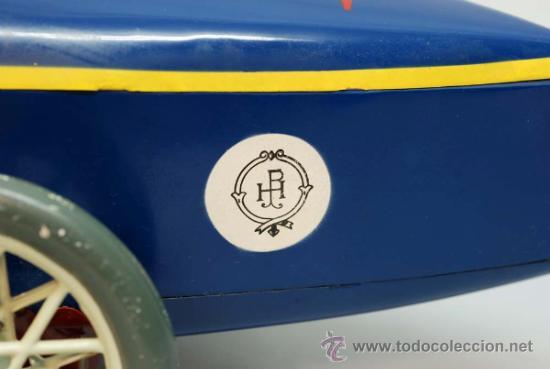 Juguetes antiguos de hojalata: Bugatti de Paya reedicion serie limitada a 100 unidades para la Expo de 1992 nº 86 - Foto 4 - 35860177