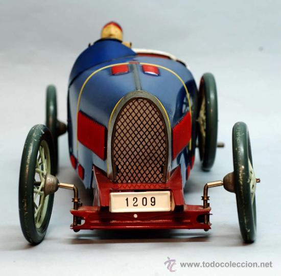 Juguetes antiguos de hojalata: Bugatti de Paya reedicion serie limitada a 100 unidades para la Expo de 1992 nº 86 - Foto 6 - 35860177