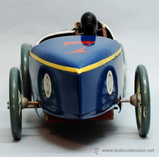 Juguetes antiguos de hojalata: Bugatti de Paya reedicion serie limitada a 100 unidades para la Expo de 1992 nº 86 - Foto 7 - 35860177