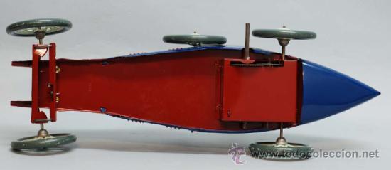 Juguetes antiguos de hojalata: Bugatti de Paya reedicion serie limitada a 100 unidades para la Expo de 1992 nº 86 - Foto 8 - 35860177
