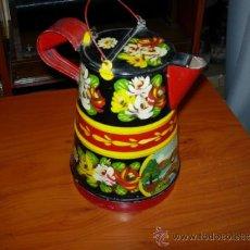 Juguetes antiguos de hojalata: JARRA DE JUGUETE. Lote 37112111