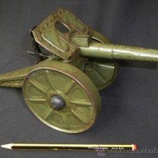 Juguetes antiguos de hojalata: CAÑON HOJALATA AÑOS 30/40. Lote 37179804