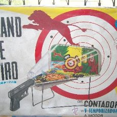 Juguetes antiguos de hojalata: STAND DE TIRO RIMA. FANTASTICO JUEGO DE TIRO DE RIMA. ELECTRICO! SALON DE TIRO RIMA.. Lote 37253140