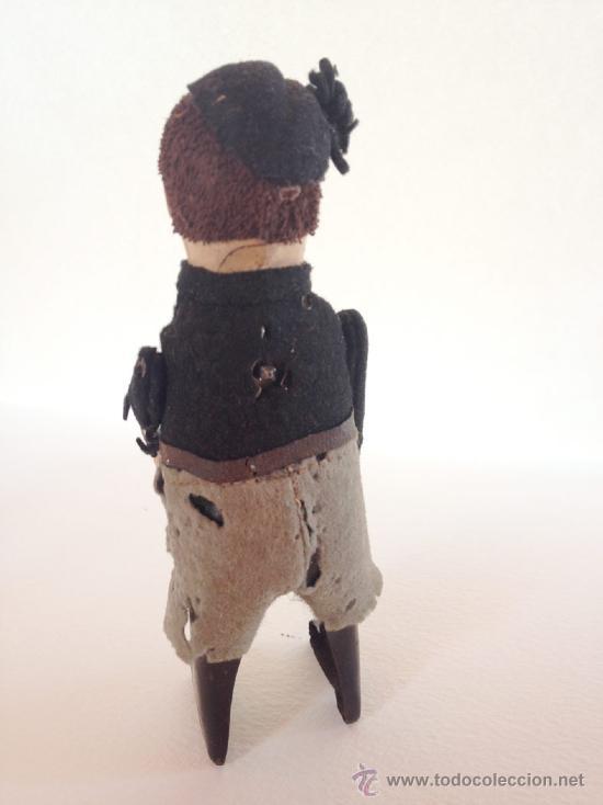Juguetes antiguos de hojalata: SCHUCO PATENT MADE GERMANY, Excepcional Juguete Alemán original Años 20. Preciosa figura de niño (6 - Foto 2 - 57340512