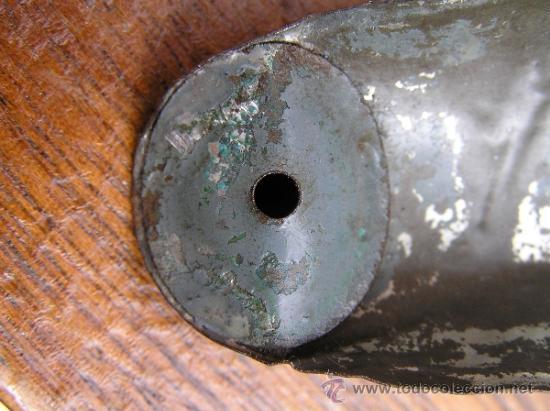 Juguetes antiguos de hojalata: CAÑÓN DE JUGUETE . Alrededor de 1900. Pieza de coleccionista. - Foto 18 - 37976009