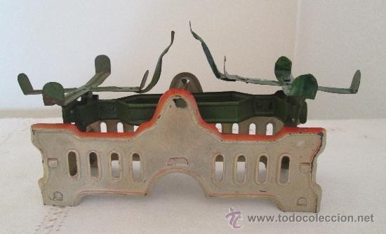 Juguetes antiguos de hojalata: Antigua balanza en hojalata - Foto 3 - 38059677