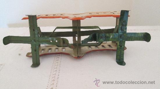 Juguetes antiguos de hojalata: Antigua balanza en hojalata - Foto 4 - 38059677
