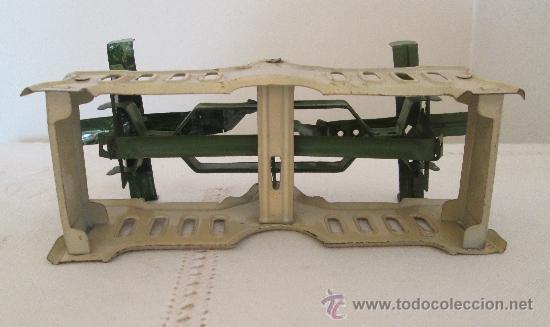 Juguetes antiguos de hojalata: Antigua balanza en hojalata - Foto 5 - 38059677